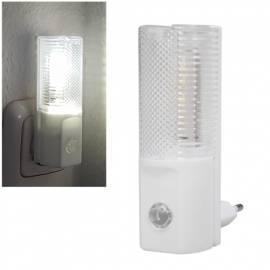Led Nachtlicht -LN-04- mit Tag/Nacht Sensor 230V 1,2W Steckdosenlicht - Bild vergrößern