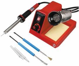 Lötstation -CT-LSK- 50W ca 150-450°C einstellbar 230 Volt + Zubehör - Bild vergrößern