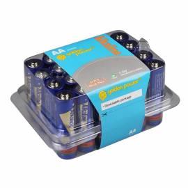 24er Pack Mignon Batterien Alkaline AA / LR6 1,5V - Bild vergrößern