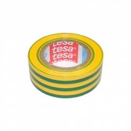 10m TESA Qualitäts Isolierband GRÜN/GELB tesaflex 53948, Isoband - Bild vergrößern