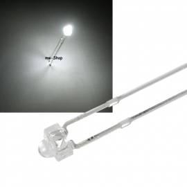 1,8mm Led weiß 6000mcd 30° ~6500K 3,2-3,6V 20mA - Bild vergrößern