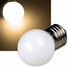 LED Tropfenlampe warmweiß E27 30lm 230V 0,4W Deko Leuchtmittel Glühbirne f Lichterkette - Bild vergrößern