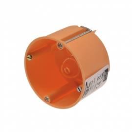 Hohlwanddose -CT21075- Schalterdose orange Ø 68x47mm Hohlraum-Dose Gerätedose - Bild vergrößern
