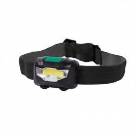 LED Kopflampe/Stirnlampe -CT HeadLight COB- 80 Lumen 2 stufig dimmbar + Blinkfunktion - Bild vergrößern