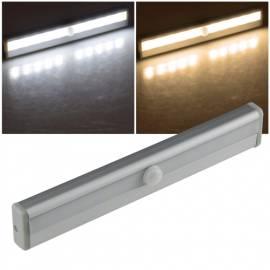 LED Batterie Unterbauleuchte -LUB-ALU10- mit Bewegungsmelder Magnet-Halter kabellos Möbelleuchte - Bild vergrößern