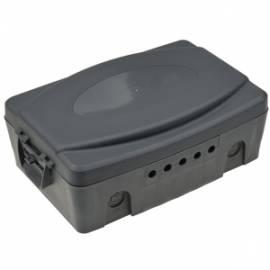 Wetterfeste Außen Elektronikbox 32x21x15cm Garten Kabelbox IP54 verschließbar - Bild vergrößern