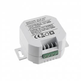 Funk Schaltempfänger Einbau 1 Kanal -Pilota Casa 22277- 230V Schalt-Empfänger passend in UP Dose - Bild vergrößern