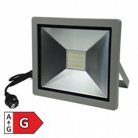LED Fluter SlimLine CTF-SLT99 neutralweiß 230V 100W 6500lm Außen-Strahler Flutlicht-Strahler - Bild vergrößern