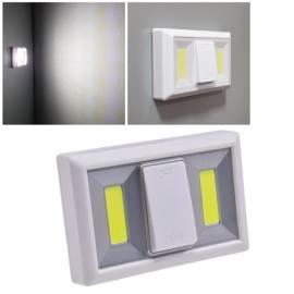 kabellose Led Klebeleuchte -CTK2 COB- großer Schalter Nachtlicht Möbelleuchte batterie-betrieb - Bild vergrößern