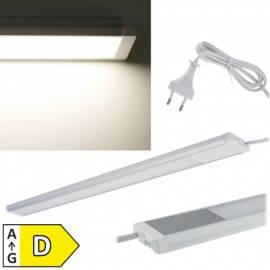 slim Led Unterbauleuchte -Comprido-600- IP20 neutral-weiß 60cm 730 Lumen 230V 10W, 12mm flach - Bild vergrößern