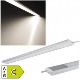 slim Led Unterbauleuchte -Comprido-900- IP20 neutral-weiß 90cm 740 Lumen 230V 10W 12mm flach - Bild vergrößern