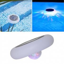 LED Solar Schwimmlicht RGB+Warmweiß ∅19cm für Pool & Teich Farbwechsel Poollicht Poollampe - Bild vergrößern