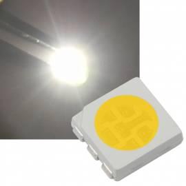 SMD Led 5050 PLCC6 weiß 5600~6200K 2,8-3,2V 60mA 3-Chip - Bild vergrößern