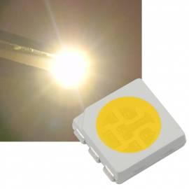 SMD Led 5050 PLCC6 warmweiß ~3060K 2,8-3,3V 60mA 3-Chip - Bild vergrößern