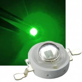1 Watt HighPower Led -hp1w-g- grün 520 ~ 525nm 50~60lm 3,2-3,4V 350mA - Bild vergrößern