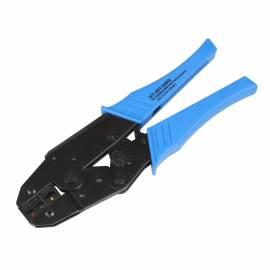 Crimpzange -blau- für isolierte Kabelschuhe 0,5 bis 6,0 mm² - Bild vergrößern