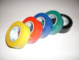 5er Pack Isolierband Breite 18mm, 5mal 10 Meter Isoband - Bild vergrößern