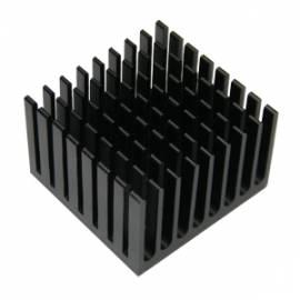 LED Kühlkörper 37x37mm für HighPower LEDs / Alu Aluminum Heatsink High Power - Bild vergrößern