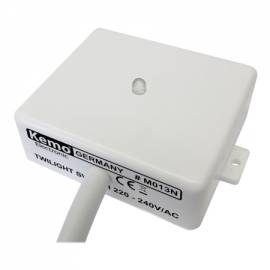 weißer Dämmerungsschalter 230 Volt Dämmerungssensor Lichtsensor twilight switch - Bild vergrößern