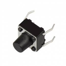 micro-Taster -MT-04- EIN / Schließer Drucktaster 6 x 6 x 4mm - Bild vergrößern