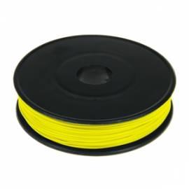 40m Litze / Kabel GELB 0,09mm² auf Spule - Bild vergrößern