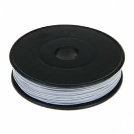40m Litze / Kabel GRAU 0,09mm² auf Spule - Bild vergrößern