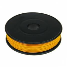 40m Litze / Kabel ORANGE 0,09mm² auf Spule - Bild vergrößern