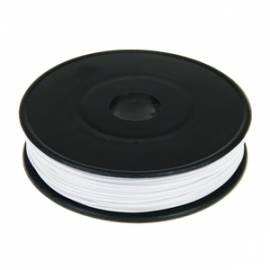 40m Litze / Kabel WEIß 0,09mm² auf Spule - Bild vergrößern