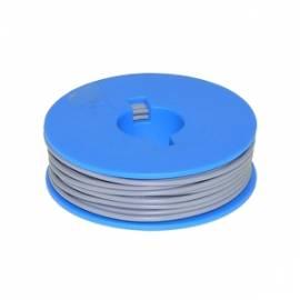 10 Meter flexible Litze / Kabel GRAU 0,14mm² - Bild vergrößern