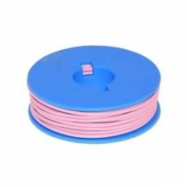 10 Meter flexible Litze / Kabel PINK 0,14mm² - Bild vergrößern
