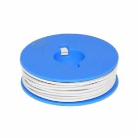 10 Meter flexible Litze / Kabel WEIß 0,14mm² - Bild vergrößern