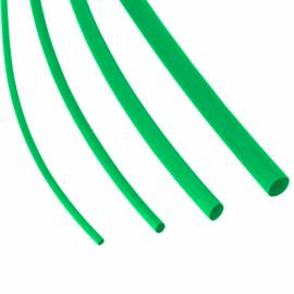 1 Meter Schrumpfschlauch 1,2/0,6 mm GRÜN - Bild vergrößern
