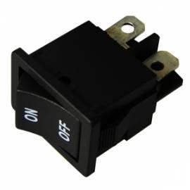 Wippschalter 2x EIN/AUS 250/125V AC 3/6A 21x15mm - Bild vergrößern