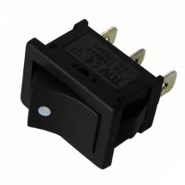 WippTaster EIN/EIN 125/250V 6/3 A 21x15mm - Bild vergrößern