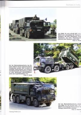 Fahrzeug-Profile 44: Die Nachschubtruppe der Bundeswehr - Bild vergrößern