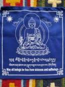 Gebetsfahnen - Medizin Buddha - NEPAL - Tibet