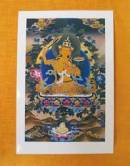 THANGKA POSTKARTE  Buddha Manjushree #1