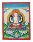 Thangka Buddha Avalokiteshvara Chenrezig- Nepal