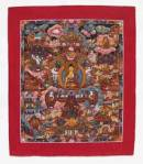 Thangka - Buddha`s Leben - Buddha Story - Nepal