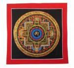 Thangka OM AUM Symbol - Mandala - Original aus Nepal #3