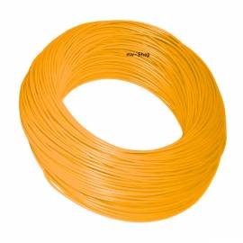 100 Meter Bund Kabel 2,5mm² ORANGE im Karton