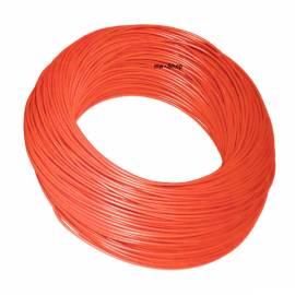 100 Meter Bund Kabel 0,50mm² ROT im Karton