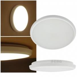 Led Wand-Decken-Leuchte SALAO Ø265/300x40mm - HF-Bewegungsmelder - Standby-Licht - EEK:A+ 230V IP54