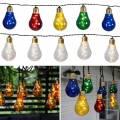 Party Lichterkette GLOW 10 LED-Glühbirnen 8,6m 230V für Innen