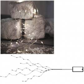 Micro Led Lichterkette Cluster Wire Bouqet 46 SMDs Timer batteriebetrieben STRING Draht