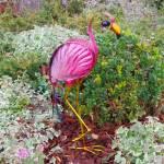 LED Solarleuchte Vogel