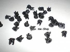 10 LedClips / Montageringe für 3mm Leds - Bild vergrößern
