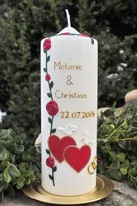 Hochzeitskerze 018