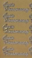 Zier-Sticker-Bogen-0028g-Gute Besserung-gold