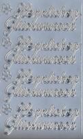 Zier-Sticker-Bogen-0400s-Herzlichen Glückwunsch-silber